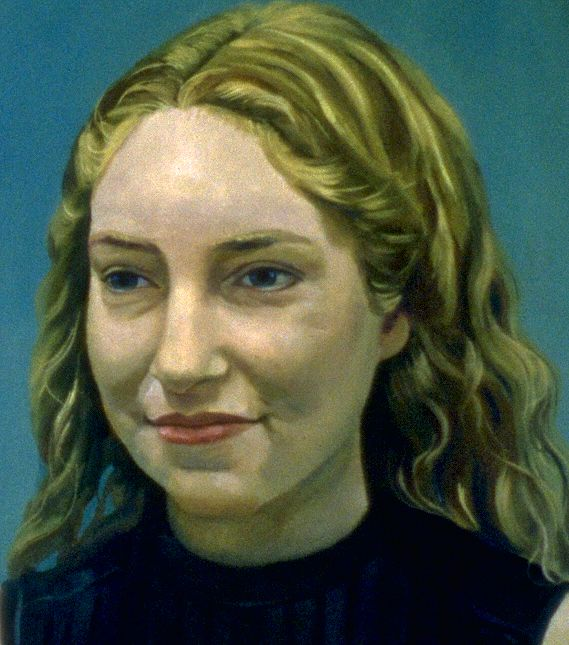Jessica - Painting by Philip Ayers