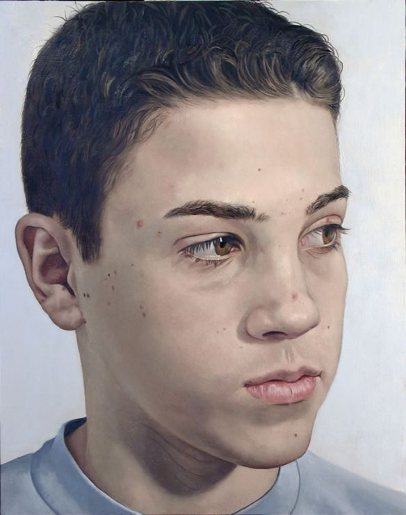 Teenage Boy - Painting by Philip Ayers