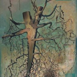 Sectioned Root - Painting thumbnail by Philip Ayers