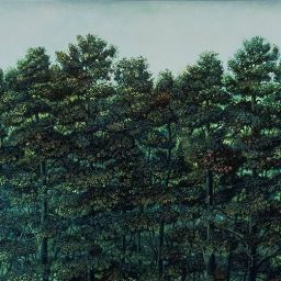 Trees with Ear - Painting thumbnail by Philip Ayers