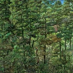 Woods - Painting thumbnail by Philip Ayers