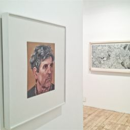 Philip Ayers: Small Portraits, The Painting Center, NYC - Painting thumbnail by Philip Ayers