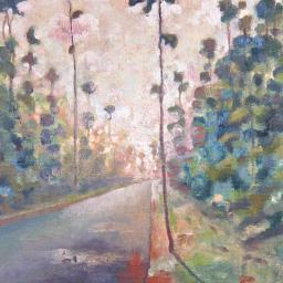 Carolina Road - Painting thumbnail by Philip Ayers
