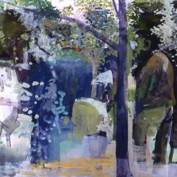 Copehagen Funeral - Painting thumbnail by Philip Ayers