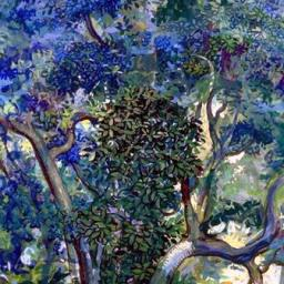 Looking into Foliage - Painting thumbnail by Philip Ayers