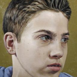 Boy Looking 2 - Painting thumbnail by Philip Ayers