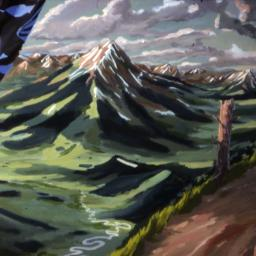 This Great Land - Painting thumbnail by Philip Ayers