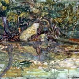 River - Painting thumbnail by Philip Ayers