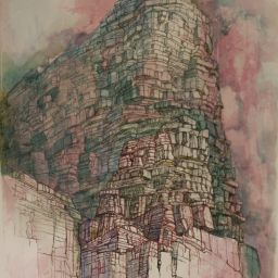 Tower - Painting thumbnail by Philip Ayers
